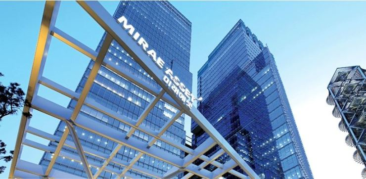 The headquarters of Mirae Asset Daewo in Seoul / Korea Times file