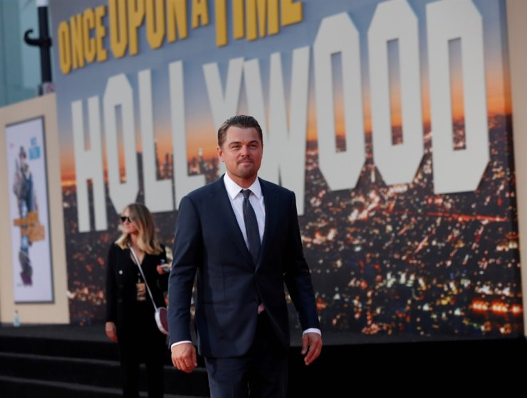 Leonardo DiCaprio attends the premiere of 'Once Upon a Time In Hollywood' in Los Angeles, California, U.S., July 22, 2019. Reuters-Yonhap