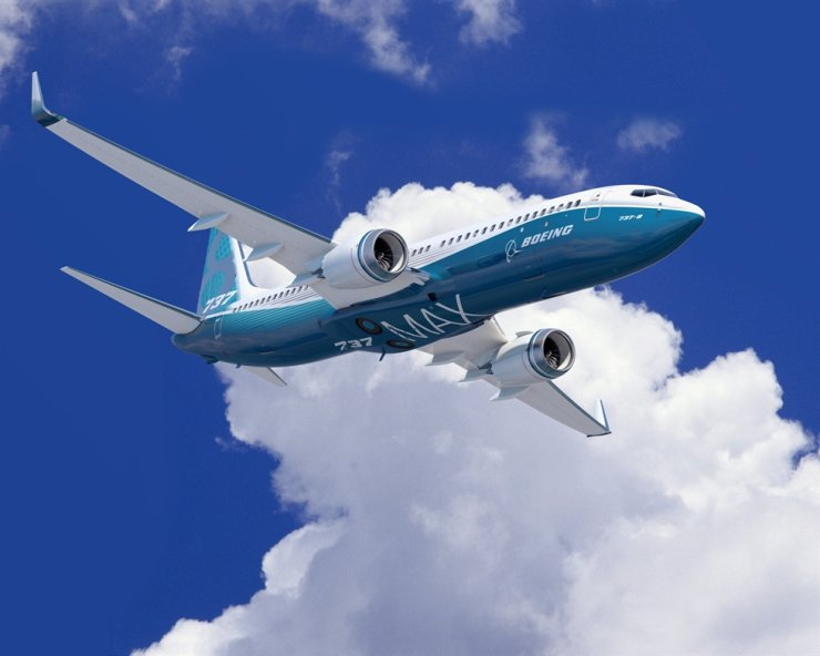 Boeing B737 MAX 8, which is responsible for two deadly crashes overseas / Courtesy of Boeing