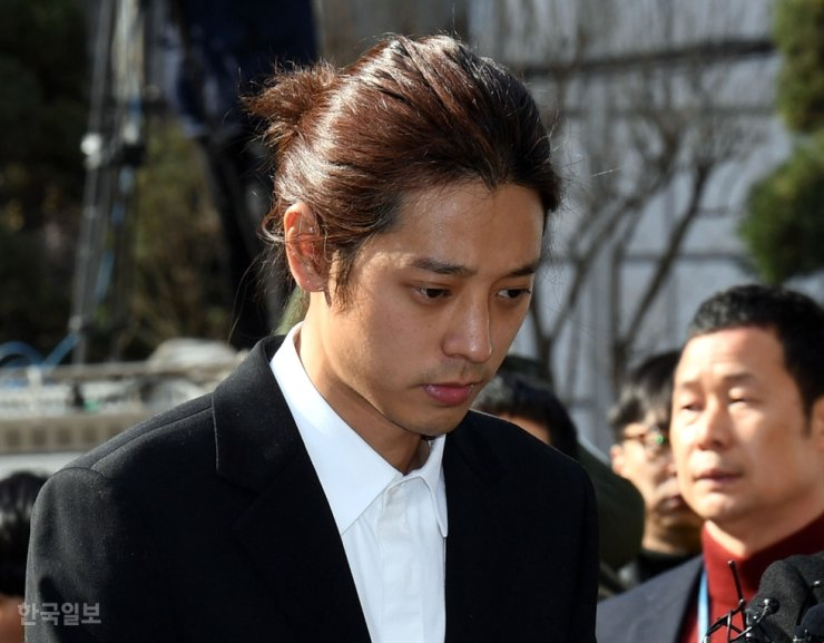 Jung Joon-young was sentenced to six years in prison by the Seoul Central District Court, Friday after being found guilty of multiple counts of rape and filming and sharing the crimes with other entertainers through a mobile chat service. / Korea Times file