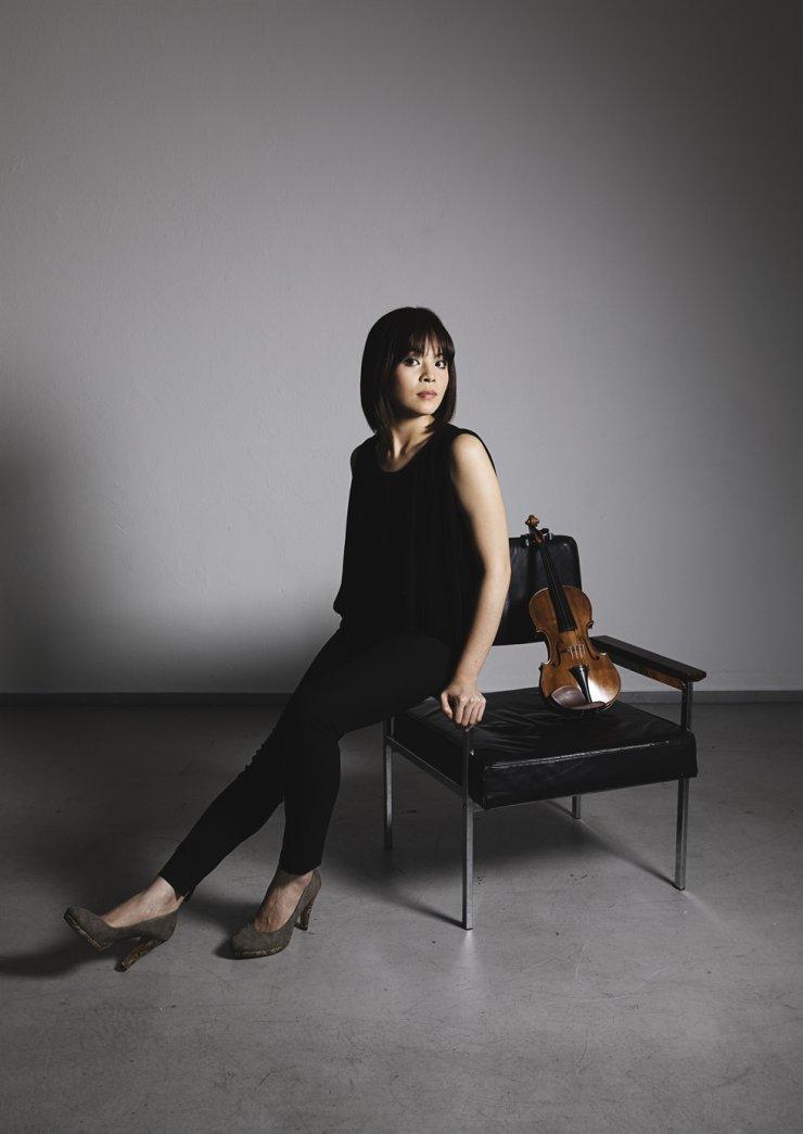 Violinist Lee Ji-yoon will perform at the Beautiful Thursday Concert Series./Courtesy of Kumho Art Hall Yonsei ⓒ Nikolaj Lund