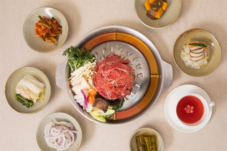 Mayfield Hotel will offer bulgogi, a grilled marinated beef dish, for guests who use its Lunar New Year packages. / Courtesy of Mayfield Hotel
