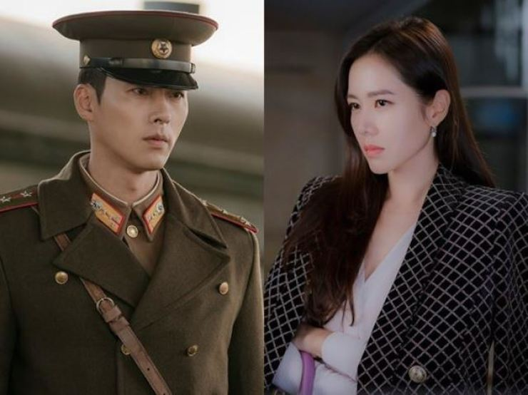 A conservative political party has lodged a complaint against popular rom-com 'Crash Landing on You,' starring A-list actors Hyun Bin and Son Ye-jin. Courtesy of tvN