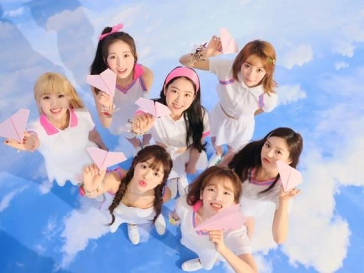 A teaser image of K-pop group Oh My Girl's 2019 album