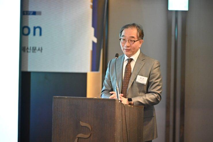 Lee Geun, president of the Korea Foundation