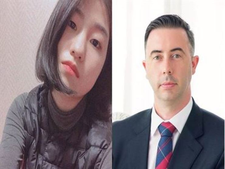 Han Jeongmun and David Tizzard