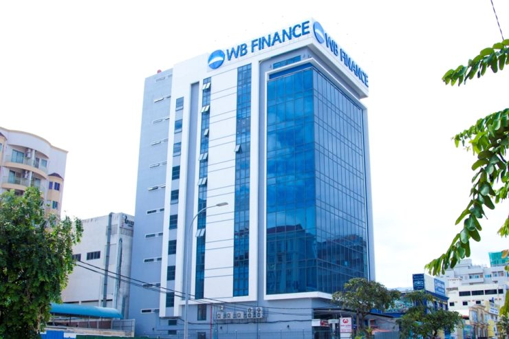 WB Finances' headquarters in Phnom Penh, Cambodia / Courtesy of Woori Bank