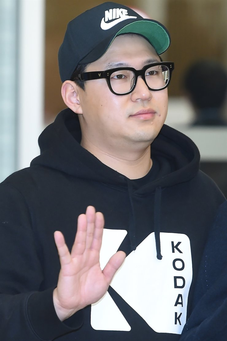 Screenwriter Han Jin-won. He and Bong were awarded the Oscar for Best Original Screenplay at the 92nd Academy Awards. Yonhap