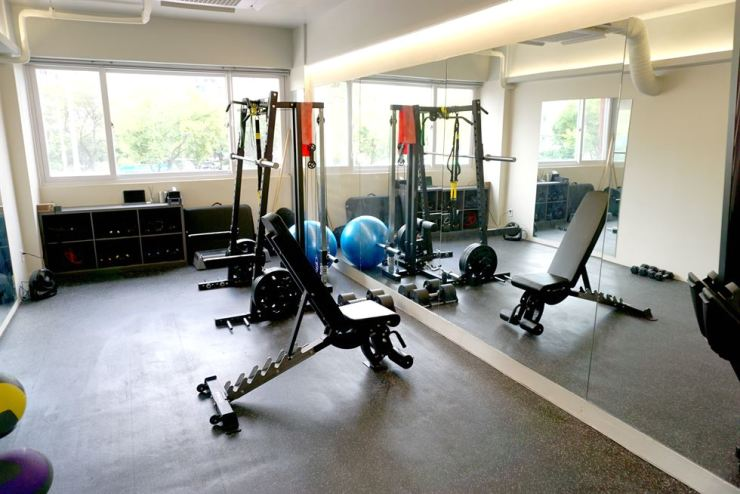 Equipment at GymT can be customized for personal training. Courtesy of GymT