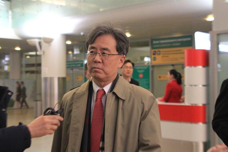 Presidential NSO second deputy chief Kim Hyon-chong Yonhap