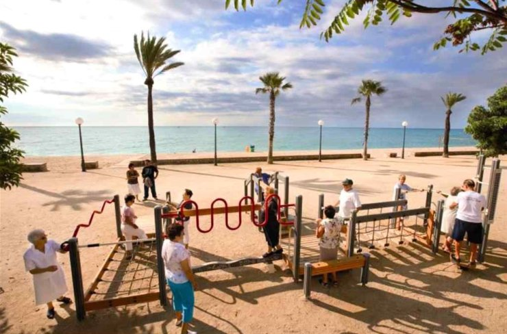 A senior playground in Spain / Courtesy of Lappset Group