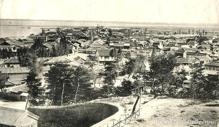 Wonsan in the 1920/30s.  Robert Neff Collection
