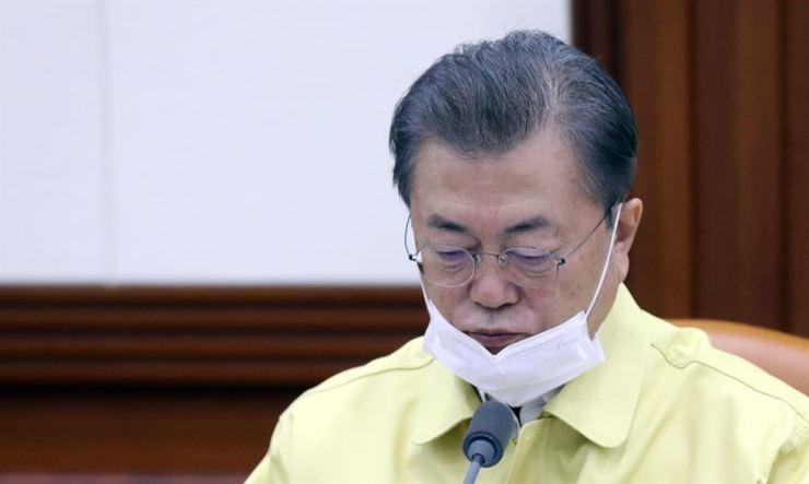 President Moon Yonhap