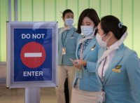 More countries suspend flights to Korea over virus concerns