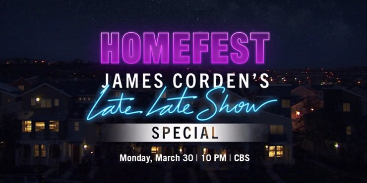 K-pop boy band BTS will join a star-studded lineup for a 'special self-quarantine edition' of popular American TV show 'The Late Late Show with James Corden,' set for next week. Courtesy of CBS