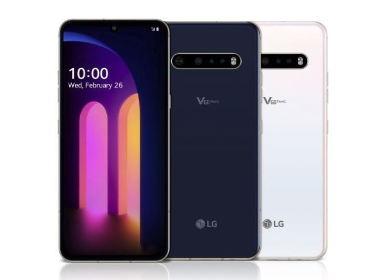 LG V60 ThinQ. Courtesy of LG Electronics
