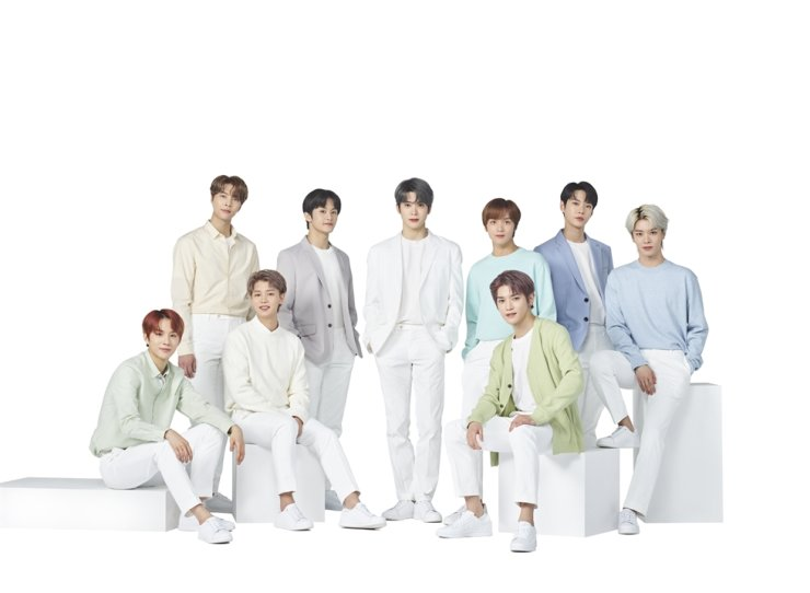 K-pop act NCT 127. Courtesy of Nature Republic