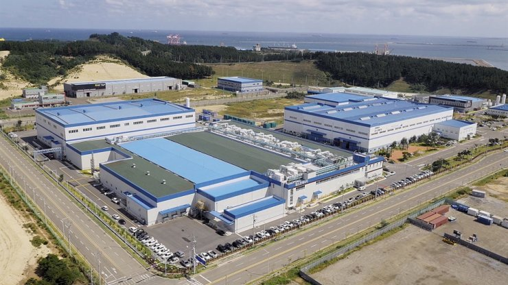 Posco Enery's fuel cell factory in Pohang, North Gyeongsang Province / Courtesy of Posco Energy