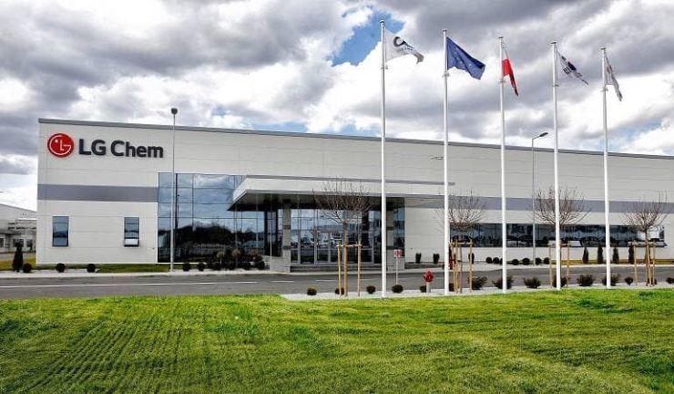 LG Chem's battery manufacturing plant in Poland / Courtesy of LG Chem