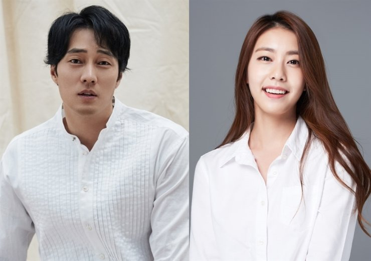 So Ji-sub, left, and Cho Eun-jung / Courtesy of 51k