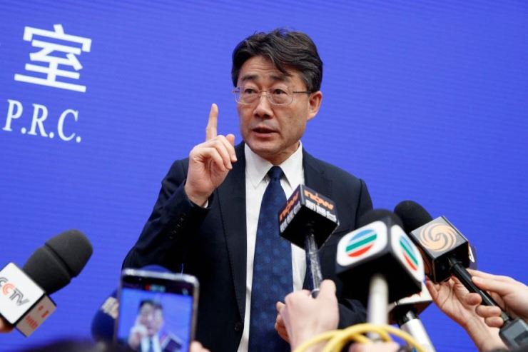 George Gao Fu, director of the Chinese Center for Disease Control and Prevention / Reuters