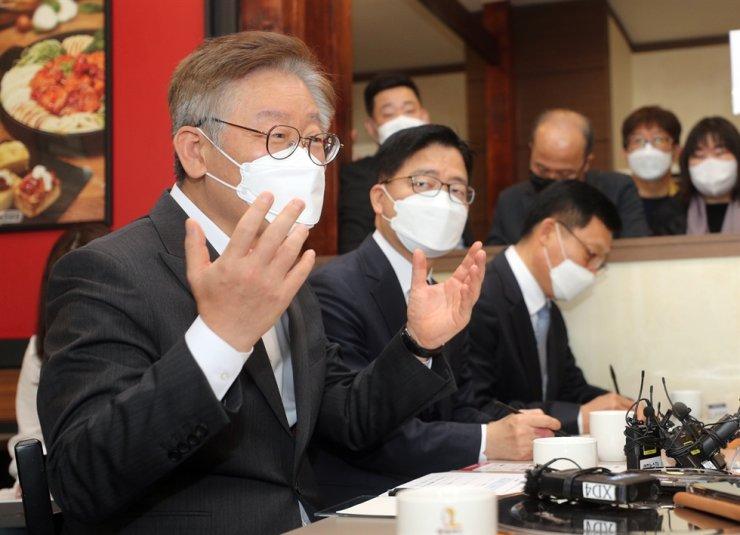 Gyeonggi Governor Lee Jae-myung / Yonhap