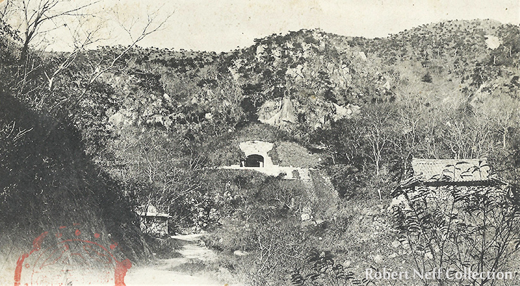 The mountainous region of Gyeongsang Province. Courtesy of Diane Nars Collection