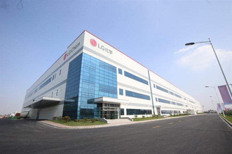 LG Chem's EV battery plant in Nanjing, China. Courtesy of LG Chem