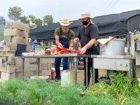 Expat-run garden offers fresh food, spicy sauces