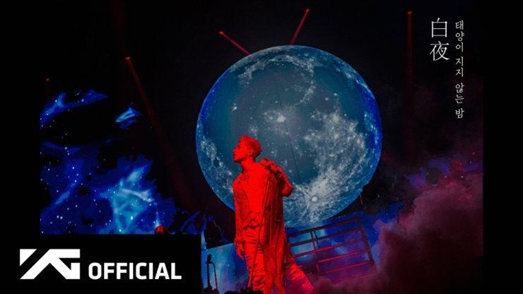 BIGBANG's Taeyang in his YouTube documentary 'White Night.' Courtesy of YG Entertainment