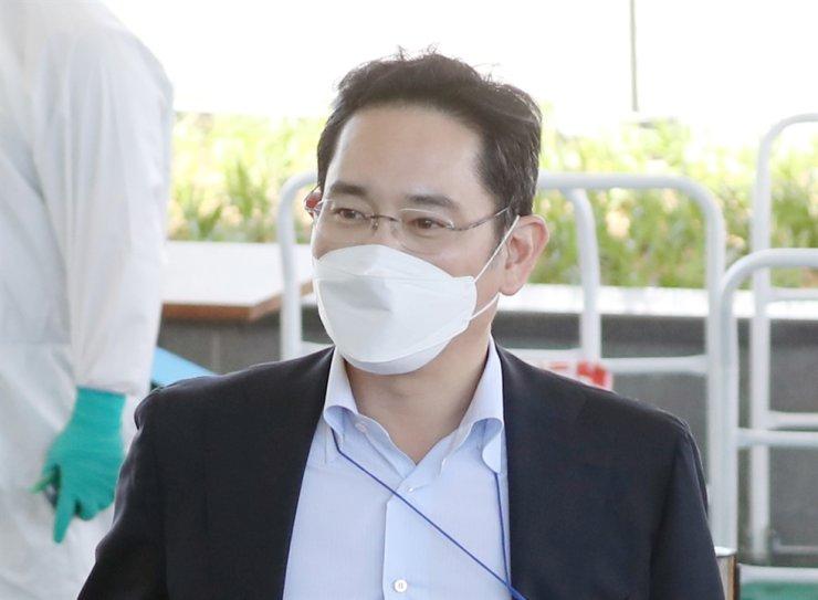Samsung Electronics Vice Chairman Lee Jae-yong. Yonhap