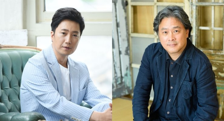 Actor Park Hae-il, left, has been offered a role in director Park Chan-wook's new melodrama. Korea Times file