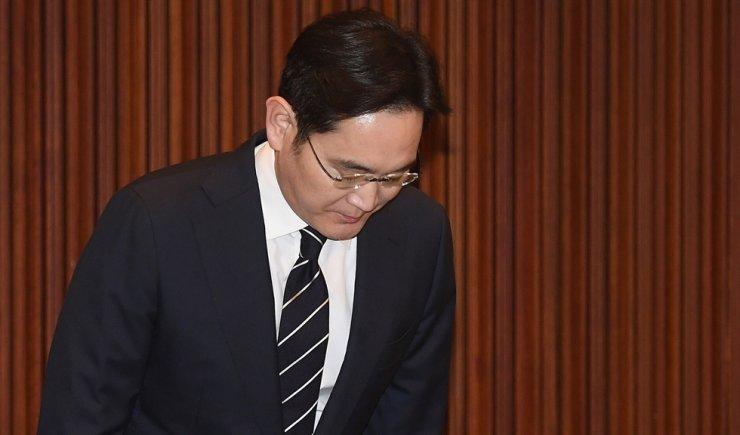 Samsung heir Lee Jae-yong. Yonhap