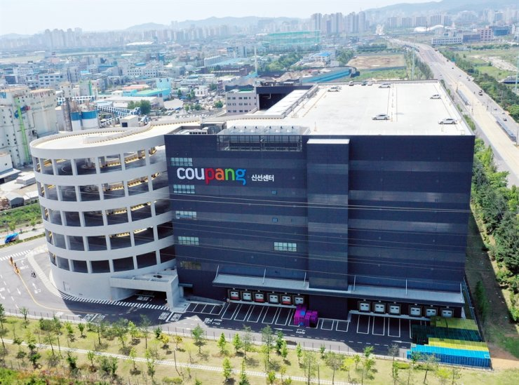 A logistics center operated by Coupang in Bucheon, Gyeonggi Province / Yonhap
