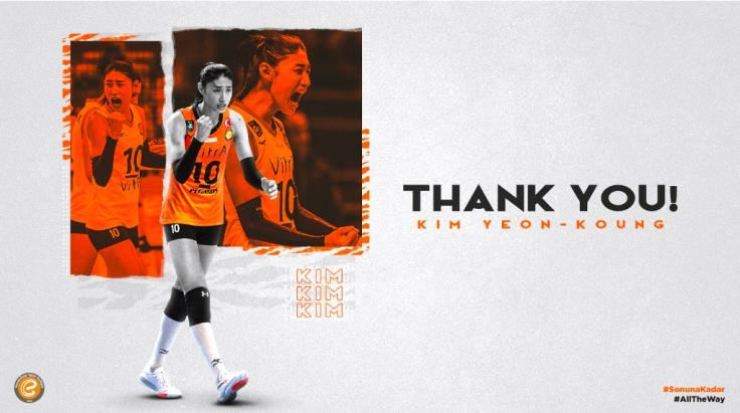 Seen above is an image captured from Turkish volleyball team Eczacibasi's webpage. / Courtesy of Eczacibasi