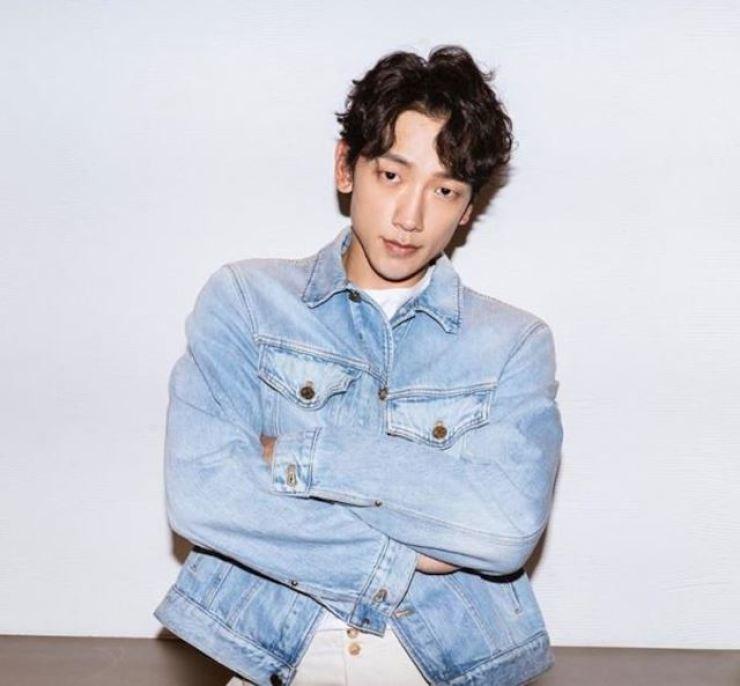 Singer-actor Rain. Capture from Rain's Instagram