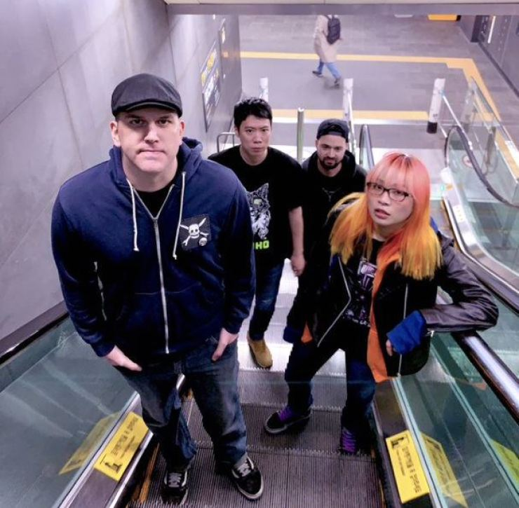 The members of Seoul punk band ...Whatever That Means / Courtesy of ...Whatever That Means