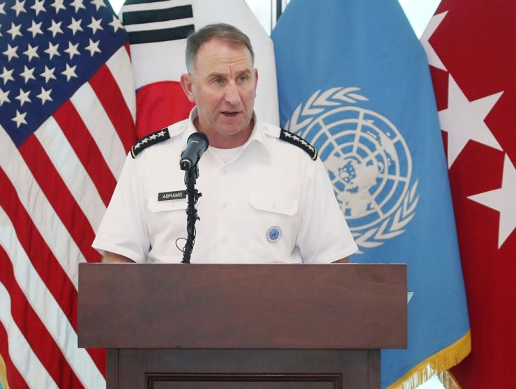 Gen. Robert Abrams, commander of U.S. Forces Korea, United Nations Command and Combined Forces Command / Korea Times file