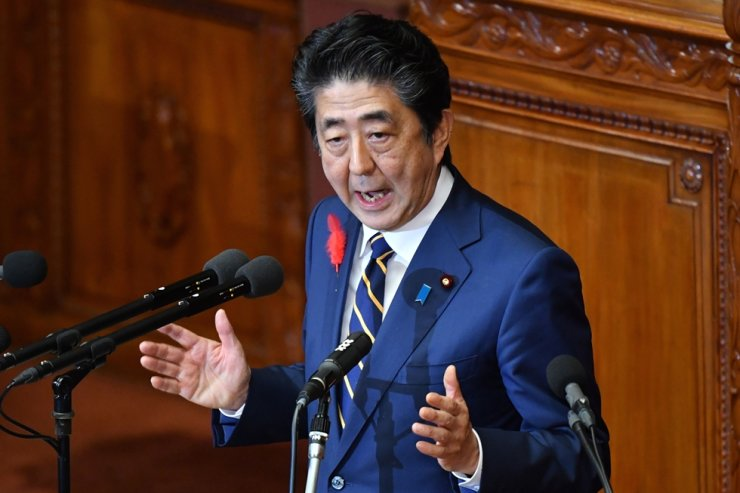 Japan's Prime Minister Shinzo Abe / AFP