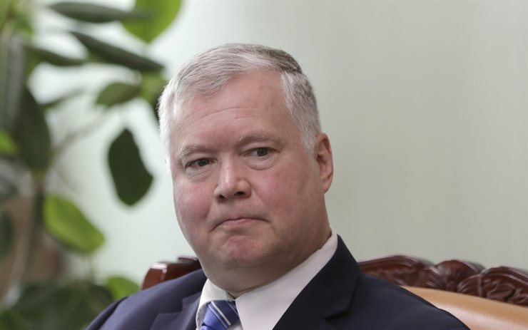 U.S. Special Representative for North Korea Stephen Biegun / AP