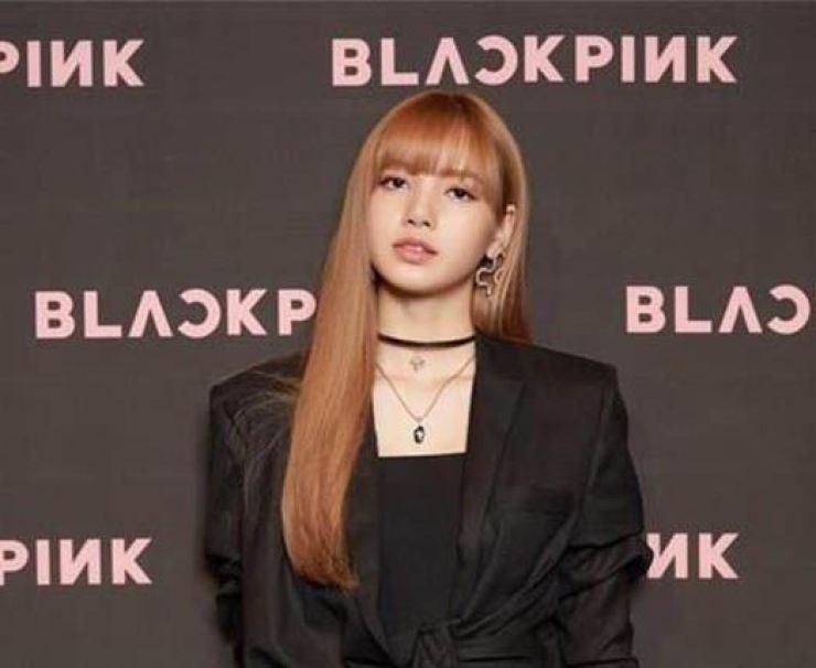 Lisa of K-pop girl band BLACKPINK.