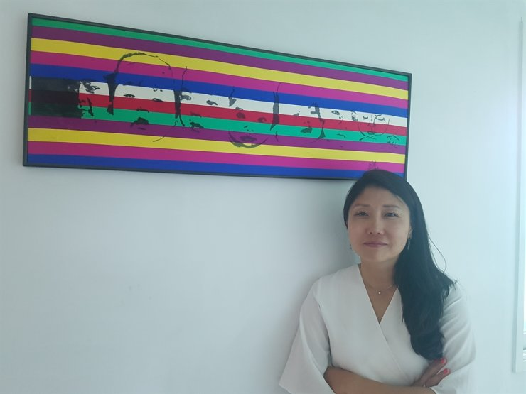 Kara Bos at the KoRoot, a guesthouse for visiting adoptees in Seoul, Wednesday                                          Korea Times photo by Kim Se-jeong