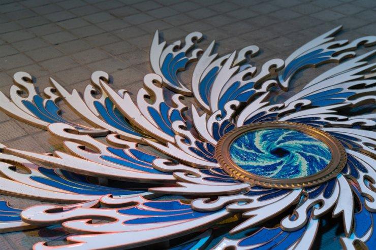 Kim Han-saem presents 'Whirlpool I & II' and 'Wave I~IV' at