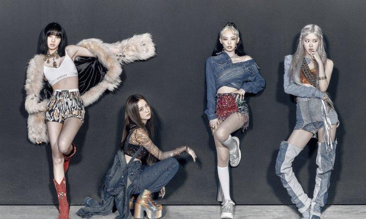 K-pop girl band BLACKPINK. Courtesy of YG Entertainment