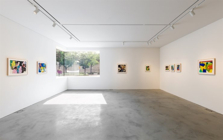 Installation view of Choi Wook-kyung's solo exhibition at the newly renovated Kukje Gallery / Courtesy of Kukje Gallery