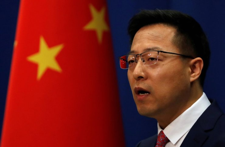 Chinese Foreign Ministry spokesman Zhao Lijian / Reuters