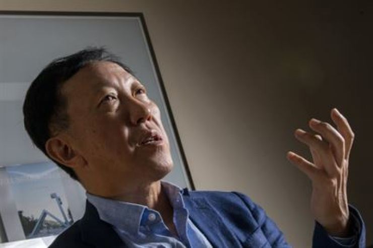 Lee In-ho, head of the Korea Economic Association / Korea Times photo by Shim Hyun-chul