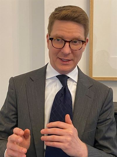 IFM Investors Executive Director Zachary May / Courtesy of IFM Investors