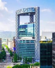 Jongno Tower in Seoul / Courtesy of WeWork
