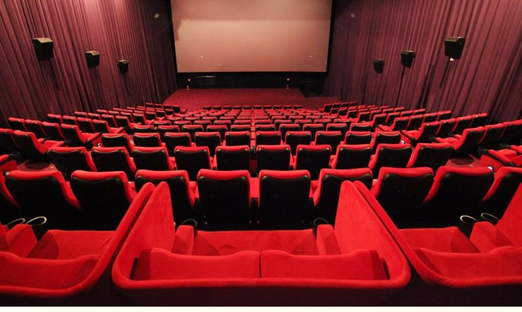 Seen are the seats of a movie theater in Seoul. Courtesy of CGV